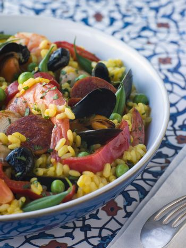 Bowl of Paella