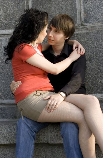 young couple together