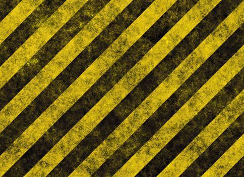 hazard stripes