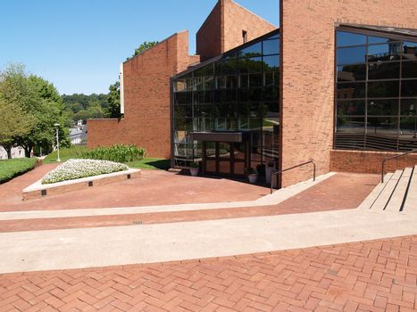 Williams Center for the Arts on the campus of Lafayette College in Easton, Pennsylvania.