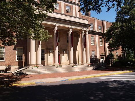 Markle Hall Admissions Building on the campus of Lafayette College in Easton, Pennsylvania