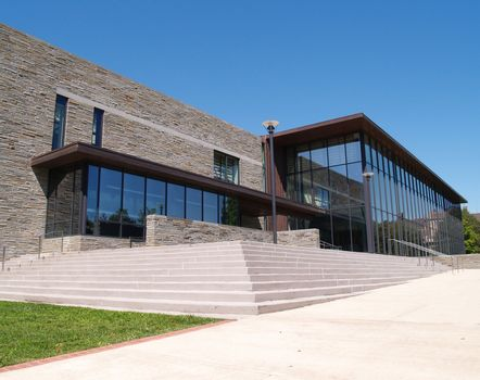 Skillman Library on the campus of Lafayette College in Easton, Pennsylvania