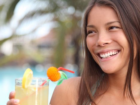 Summer holidays woman