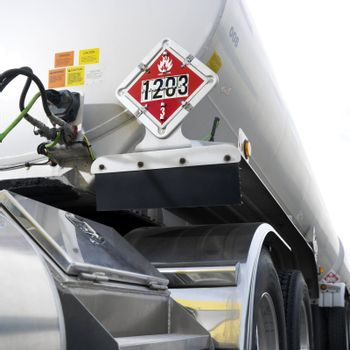 Fuel tanker truck.
