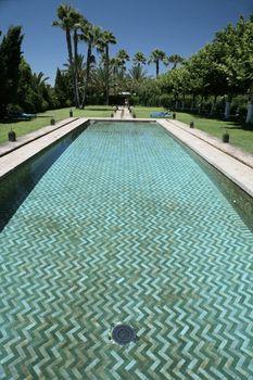 arab swimming pool