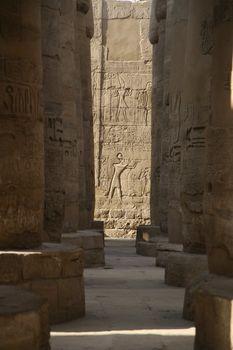 egyptian corridor