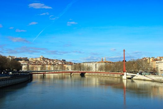 Lyon cityscape