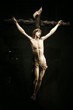 christ sculpture