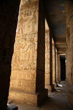egyptian covered walk