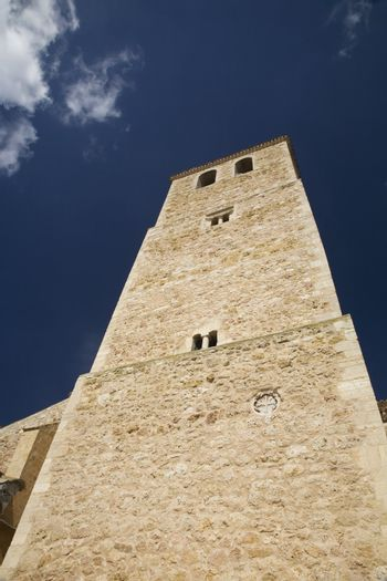 belmonte church tower front