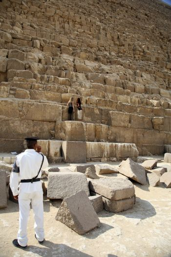police in pyramid
