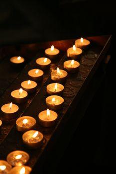 pray candles