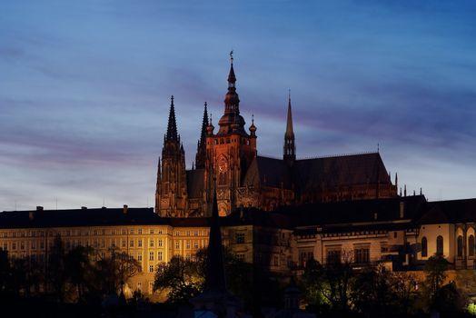 Cathedral of St Vitus - Prague castle