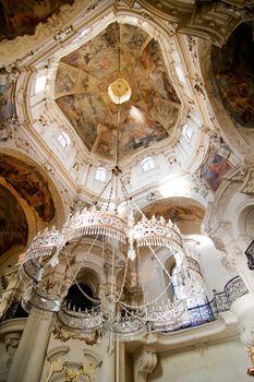 Rococo chandelier