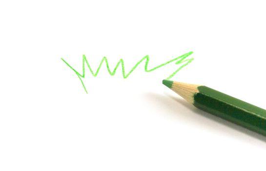 drawn green grass