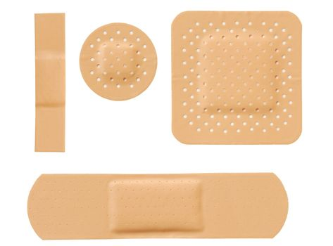 Isolated bandages set