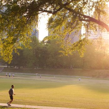 Piedmont Park in Atlanta, Georgia