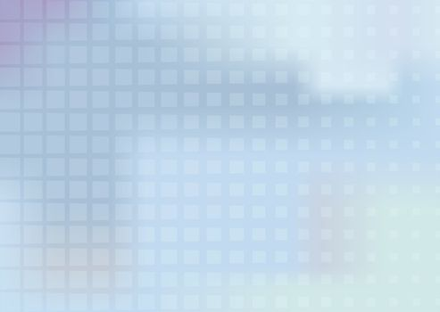 abstract light blue-gray background with grid