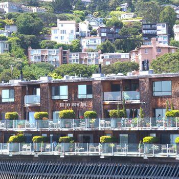 Sausalito, a town on San Francisco Bay in Marin County, USA