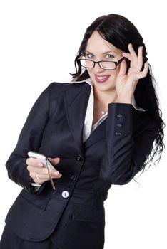 charming businesswoman