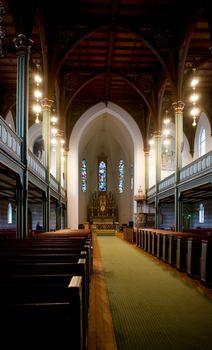 Gothic Wooden Church