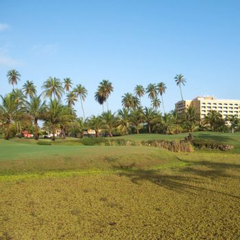 Golf resort in Dorado, Puerto Rico