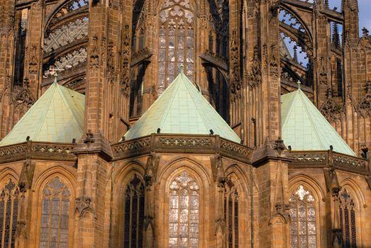 Gothic church detail
