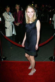 AnnaSophia Robb   at the Sleepwalking Premiere held at the Directors Guild of America, Hollywood.