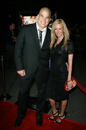 Jenna Jameson and Tito Ortiz   at the Sleepwalking Premiere held at the Directors Guild of America, Hollywood.