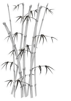 bamboo stalks Asian style