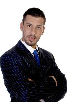 portrait of smart businessperson