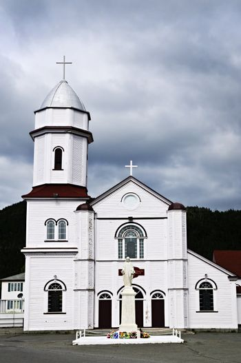 Sacred Heart Church in Placentia