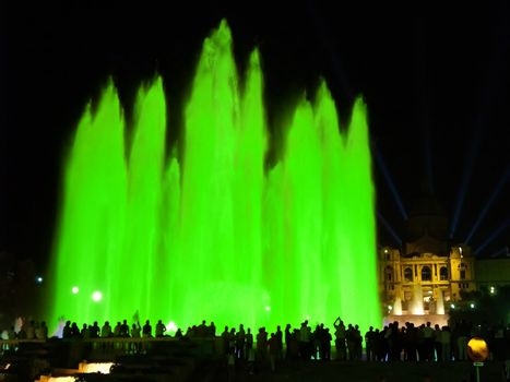 Montjuic (magic) fountain