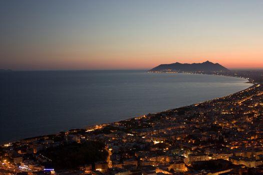 Sunset at Terracina, Italy