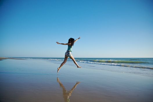 jump to the sea