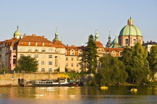 Smetana embankment