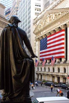 George Washington at New York Stock Exchange
