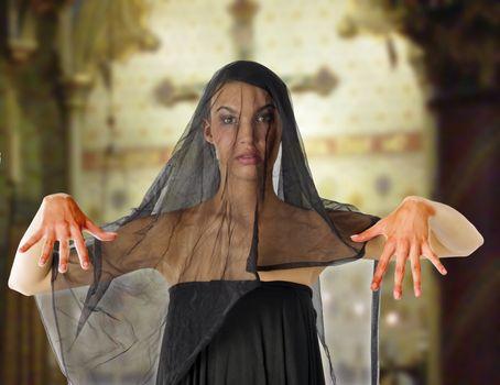 bloody widow