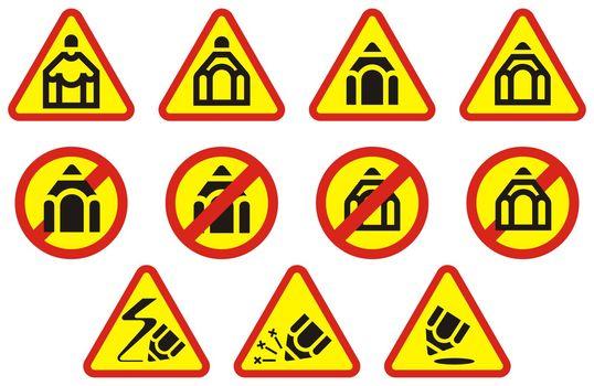 Pencil Symbols and Signs