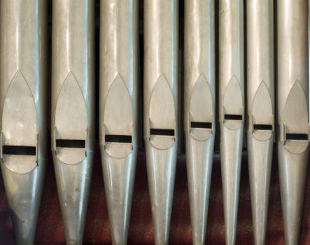 old organ pipes