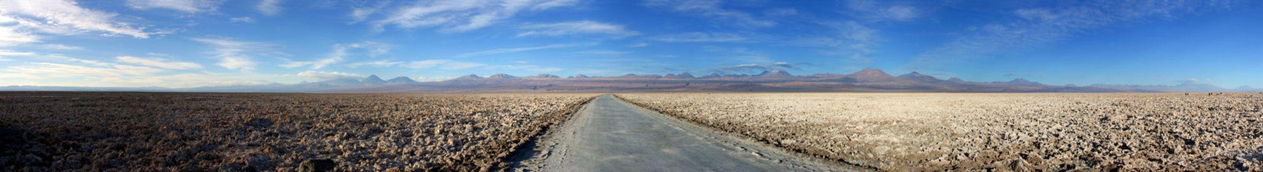 Panorama of Salar de Atacama
