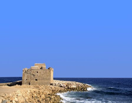 The medieval fort of Paphos, Cyprus