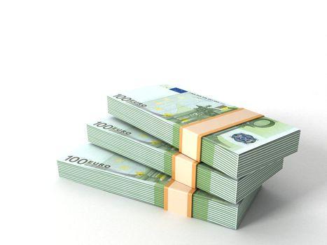currency bundles stack