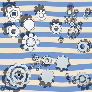 cogwheels illustrated