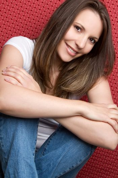 Beautiful smiling teenage girl