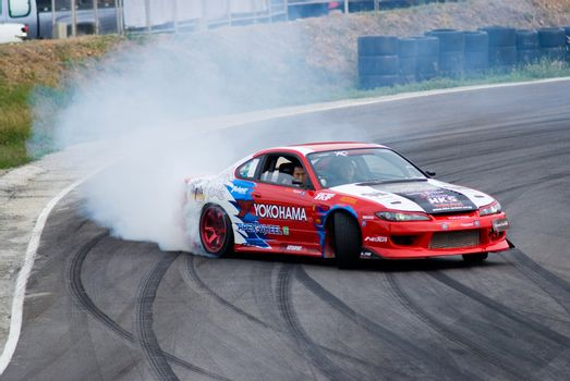 Drifting competition in Thailand