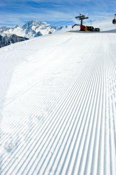 Snowcat track