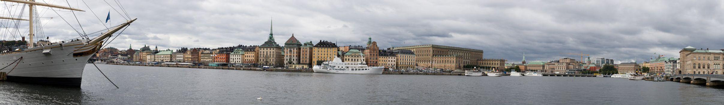 Panorama of Stockholm