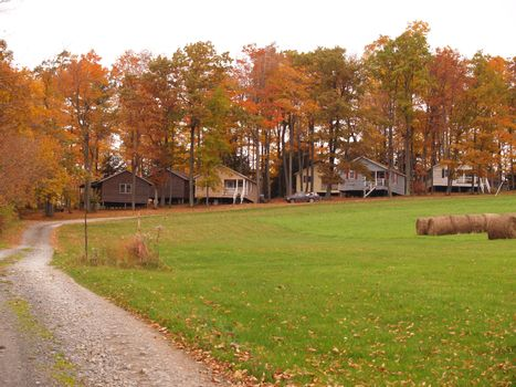many outdoor country cabins for hunting and fishing getaways