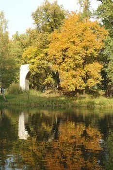 Autumn in reflexion